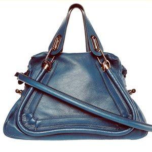 Authentic Chloe Paraty Medium Shoulder Satchel Bag
